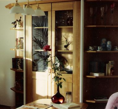 Ein Wohnzimmerschrank Oder Eine Schrankwand Sind Produkte Vom